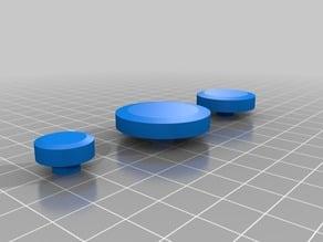 Custom LEGO Hubcaps