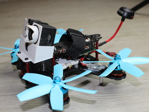 180 Quadrocopter Cam Holder