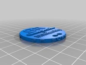 Supra Keychain Coin