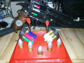 Stand for Hellboy revolver (Samaritan)