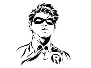 Robin stencil