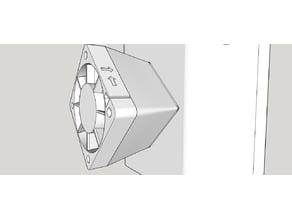 40 to 50 mm fan adapter