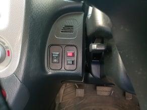 Honda Stream 2003 Accessory Switch Plate