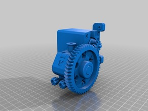 NEMA17 & Bowden geared extruder for the SmartrapCore, V 0.99