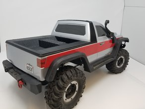 Everest Gen7 Long bed pickup body mod