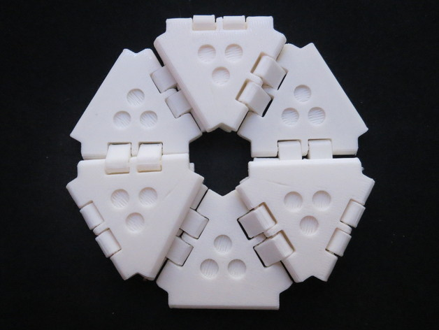 Another Hexaflexagon by randrews - Thingiverse