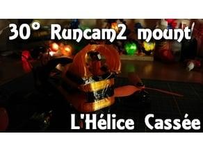 Runcam2 30° pod - L'Hélice Cassée