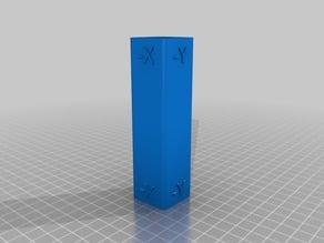 Monoprice Mini Delta Dimensional Tower Test Print