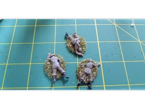 28mm Axis Casualty Figures including a Bolt Action Scenario!