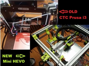 CTC PRUSA i3 Pro B Upgrade --> Mini Hypercube Evolution (HEVO)