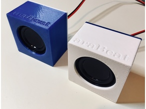 4Ω 3W Mini Speaker Enclosure - 40x40x20mm