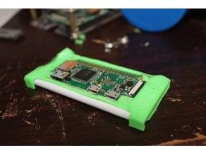 Pi Zero battery backpack case using a Samsung S5 Li-ion.