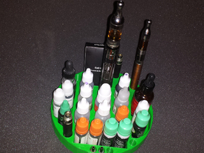 Vape organizer tray LARGE 8 inches with adapters
