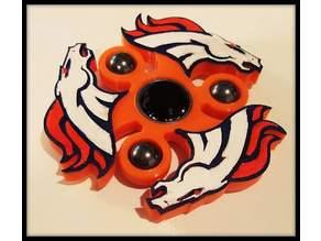 Broncos Fidget Spinner - Wingnut2k