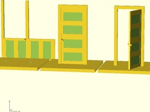 28mm doors for miniature games