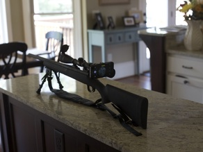 iPhone 5 and 5s scope mount