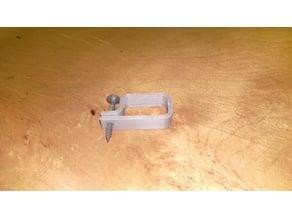 1 inch x 5/8ths inch Wire Clip