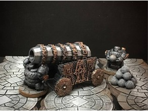 Netherforge Vaulthammer (28mm/Heroic scale)