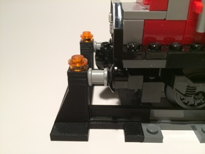 Lego Train Track Buffer stop