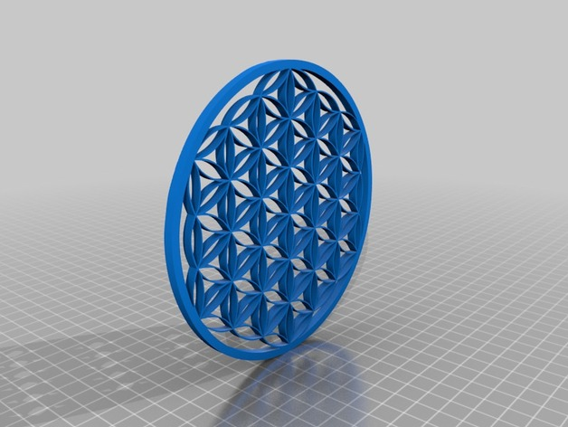 Flower of Life wall piece
