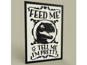 Dinosaure - Feed Me