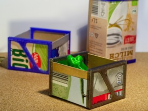 Milkcarton recycle boxes