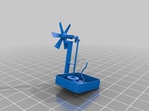 Zen Windmill Powered Water Pump