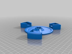 Disc holder part for ciclop project to use a 6014 bearing instead of 16014