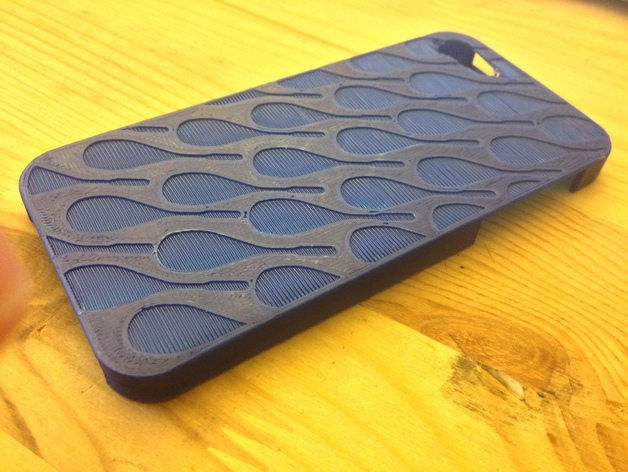 Squash Racquet Patterned iPhone 5 Case