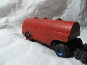 1954 International tank truck