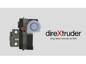 direXtruder, direct extruder by IMA