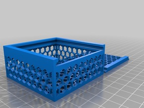 My Customized Parametric Hexagonal Hole Box