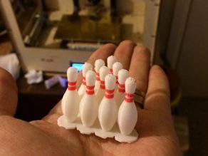Dual Extrusion Bowling Pin