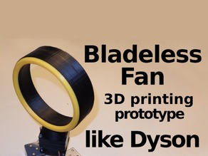 Bladeless Fan - SgaboLab Prototype