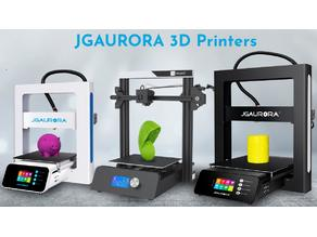JGAurora A5S, A3S, Magic newest user guide and firmware.