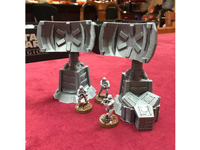 star wars legion terrain  barrel set
