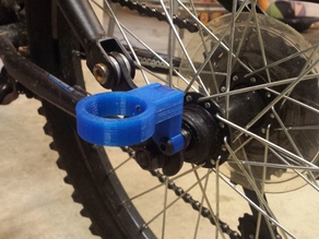 Bike Accessory: Fishing Pole Holder