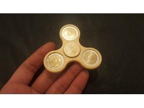 Fidget Spinner Argentino con Monedas de 1 Peso