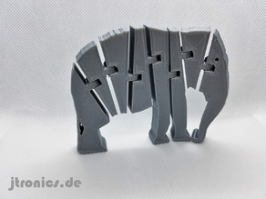 Flexi Articulated Elephant