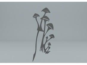 Mushroom Bookmark