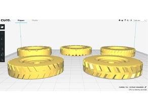 Fesifisky Tire set (5 tread patterns)