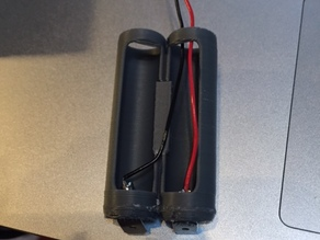 USB powered AA battery pack