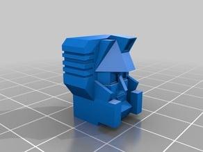 The Destructor! robot head