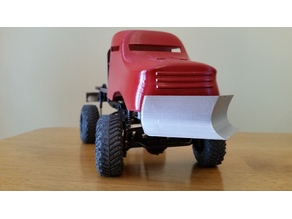 Snow plow for 1/24 scale truck
