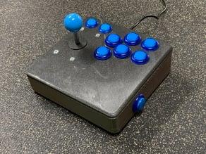 Ergonomic RetroPie Arcade Controller
