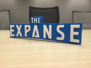 The Expanse – Main Title Logo