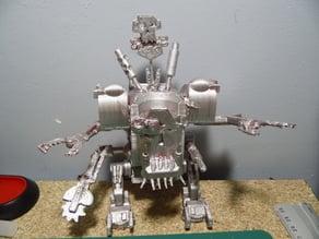 Ork - Deff dread - robot ork