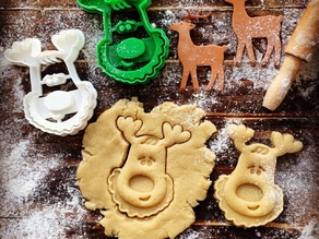 Rudolph the Reindeer Cookie Cutter