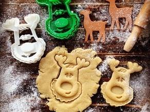 Rudolph the Reindeer Cookie Cutter