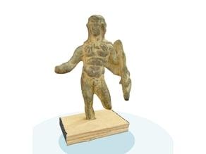 Statuette bronze hercule